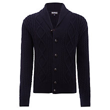 Buy Barbour Kirkham Lambswool Shawl Collar Cardigan Online at johnlewis.com
