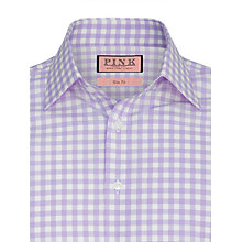Buy Thomas Pink Coddenham Check Shirt, Lilac/White Online at johnlewis.com