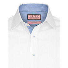 Buy Thomas Pink Cliff Plain Shirt, White Online at johnlewis.com