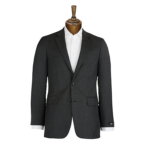 Buy Chester by Chester Barrie Birdseye Suit Jacket, Charcoal Online at johnlewis.com