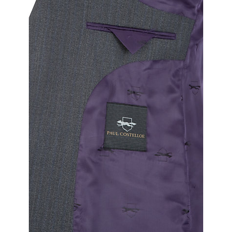 Buy Paul Costelloe Twist Stripe Suit Jacket, Grey Online at johnlewis.com