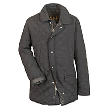 Buy Barbour Millton Quilted Jacket, Navy Online at johnlewis.com
