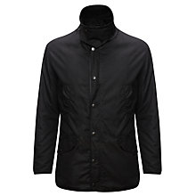 Buy Barbour Martindale Wax Jacket, Black Online at johnlewis.com