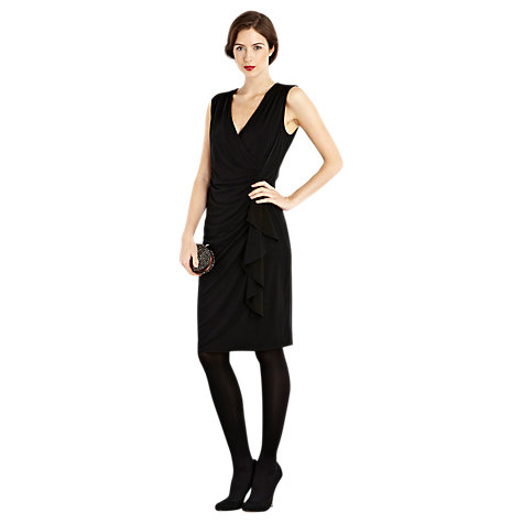 Buy Coast Olivia Jersey Dress, Black Online at johnlewis.com