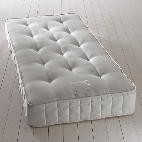 Buy John Lewis Pocket Ortho 1600 Mattress and Non-Sprung Ortho Divan Set, Light Beige, Single Online at johnlewis.com