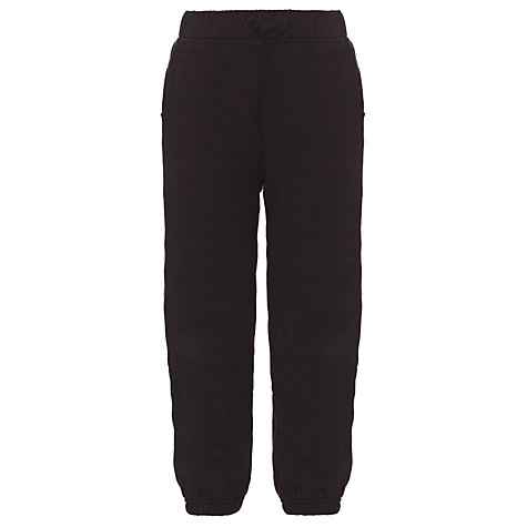 Buy John Lewis School Jogging Bottoms, Black Online at johnlewis.com