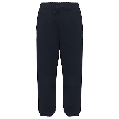 Buy John Lewis School Jogging Bottoms, Navy Online at johnlewis.com