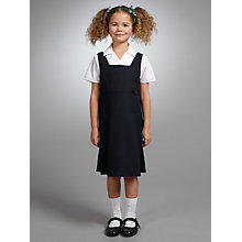 Buy John Lewis School A-Line Tunic, Navy Online at johnlewis.com