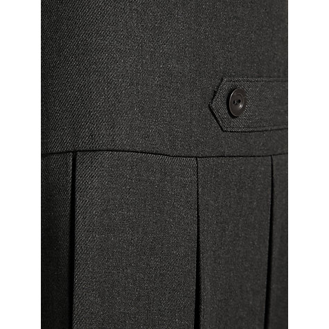 Buy John Lewis School Box Pleat Tunic, Grey Online at johnlewis.com