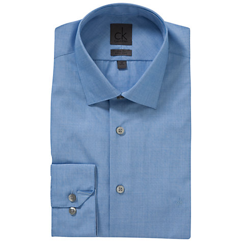 Buy CK Calvin Klein Easy Iron Shirt Online at johnlewis.com
