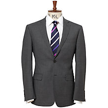 Buy Richard James Mayfair Puppytooth Wool Suit Jacket, Charcoal Online at johnlewis.com