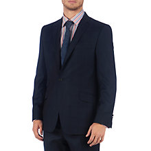 Buy Ted Baker Endurance Hoxtee Pindot Sterling Suit, Navy Online at johnlewis.com