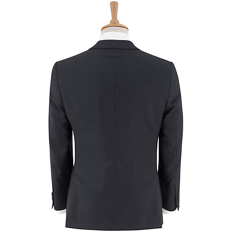 Buy Paul Costelloe Milled Stripe Suit Jacket, Navy Online at johnlewis.com