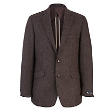 Buy Chester by Chester Barrie Wool Blazer, Brown Online at johnlewis.com