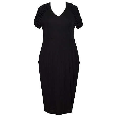 Buy Chesca Tulip Dress, Black Online at johnlewis.com