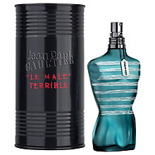 Buy Jean Paul Gaultier Le Male Terrible Eau de Toilette Extrême Online at johnlewis.com