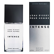 Buy Issey Miyake L'Eau d'Issey Pour Homme Intense Eau de Toilette Natural Spray Online at johnlewis.com