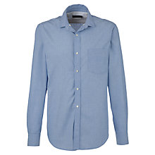 Buy French Connection Anchor Chambray Shirt, Blue Online at johnlewis.com