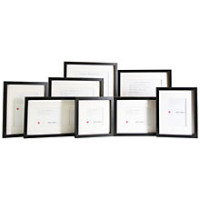 Buy John Lewis Box Frames and Mounts, Black Online at johnlewis.com