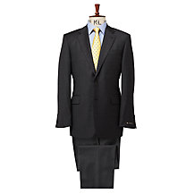 Chester by Chester Barrie Pick and Pick Wool Suit, Charcoal