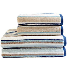 Buy Harlequin Rush Stripe Towels Online at johnlewis.com