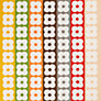Buy Orla Kiely Flower Stripe Towels, Multi Online at johnlewis.com