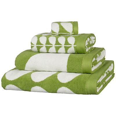 Orla Kiely Stem Jacquard Towels