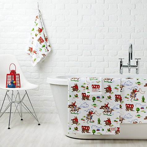 Buy Cath Kidston Cowboy Towels, Multi Online at johnlewis.com