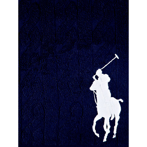 Buy Polo Ralph Lauren Cable Bath Towels Online at johnlewis.com
