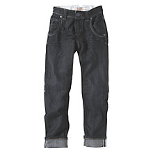 Buy Levi's Edward Slim Fit Jeans, Dark Denim Online at johnlewis.com