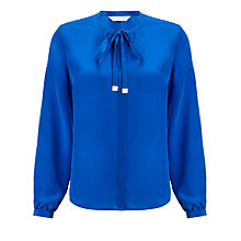 Buy COLLECTION by John Lewis Agnes Tie Neck Blouse Online at johnlewis.com