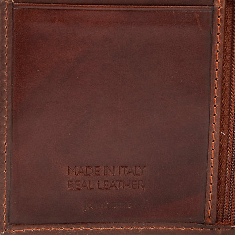 Buy John Lewis Made In Italy Leather Breast Wallet, Brown Online at johnlewis.com