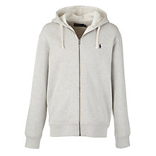 Buy Polo Ralph Lauren Full Zip Cotton Hoodie Online at johnlewis.com