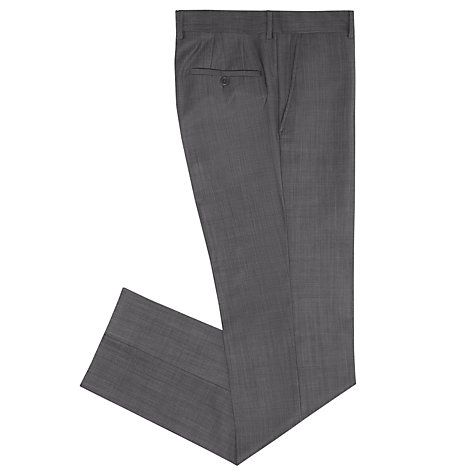Buy CK Calvin Klein Shine Wool Gabardine Suit, Mid Grey Online at johnlewis.com