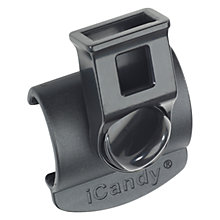 Buy iCandy Parasol/Cup Holder Clamp, Peach Online at johnlewis.com