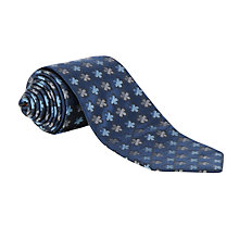 Buy Simon Carter Petite Fleur Navy Tie Online at johnlewis.com