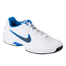Buy Nike Men's Air Court V Tennis Shoes, White/Black Online at johnlewis.com