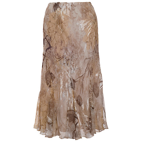 Buy Chesca Devoree Skirt, Ivory/Mocha Online at johnlewis.com