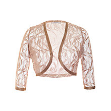 Buy Chesca Gossamer Bolero, Rose/Gold Online at johnlewis.com