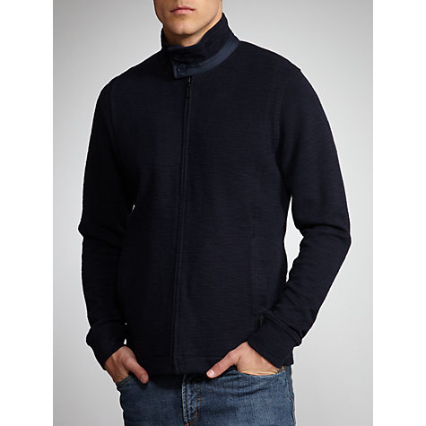 Buy Ben Sherman Zip Through Jumper Online at johnlewis.com