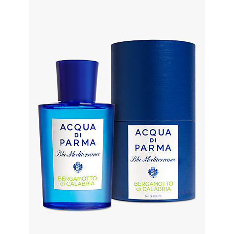 Buy Acqua di Parma Blu Mediterraneo Bergamotto di Calabria Eau de Toilette Spray Online at johnlewis.com