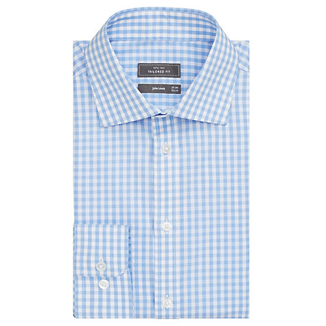 Buy John Lewis Large Gingham Shirt Online at johnlewis.com