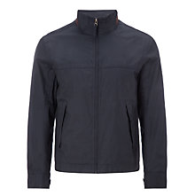 Buy Timberland Stratham Waterproof Bomber Jacket, Dark Navy Online at johnlewis.com