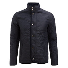 Buy JOHN LEWIS & Co. Quilted Husky Jacket, Navy Online at johnlewis.com