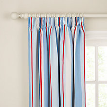 Buy little home at John Lewis Finlay Ahoy There Pencil Pleat Lined Curtains Online at johnlewis.com
