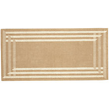 Buy Radiant Mat, Natural Online at johnlewis.com