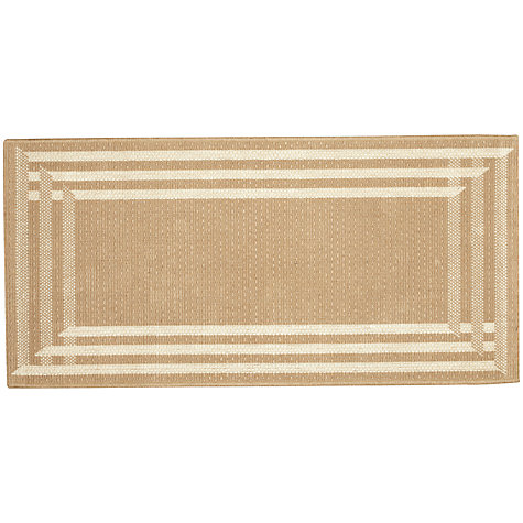 Buy John Lewis Radiant Runner, Natural, L240 x W70cm Online at johnlewis.com