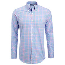 Buy Polo Golf by Ralph Lauren Custom Fit Check Shirt Online at johnlewis.com