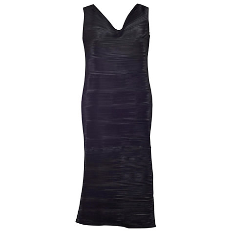 Buy Chesca Pleated Dress, Black Online at johnlewis.com