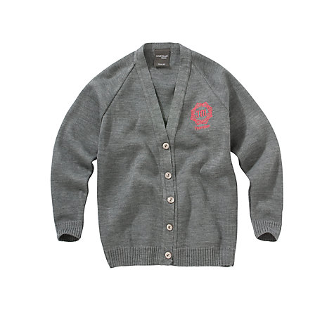 Buy Thornton College Girls' Cardigan, Grey Online at johnlewis.com